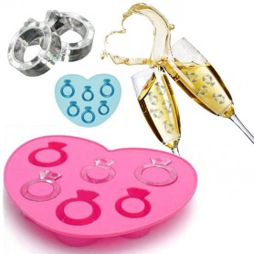 Moule Bague Diamond Silicone