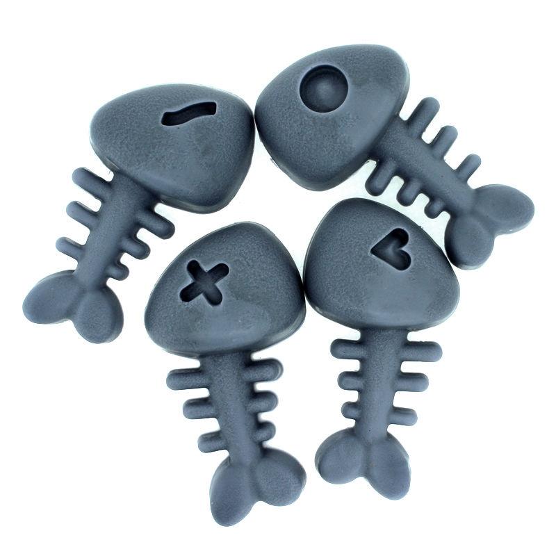 Moule à Glaçons Squelette Poisson Silicone