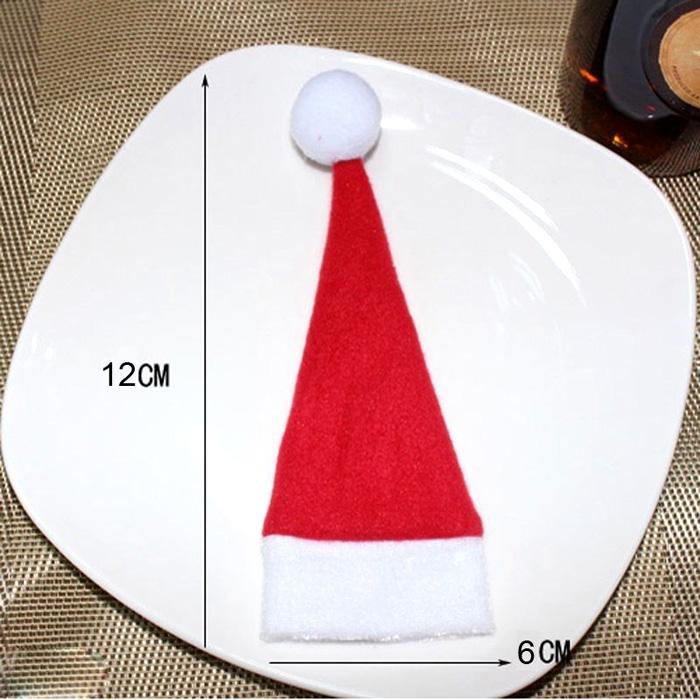 X6 Porte Couverts Chapeau de Noël