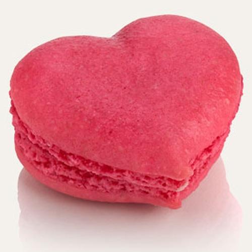 Tapis Silicone 30 Macarons en forme de Coeur