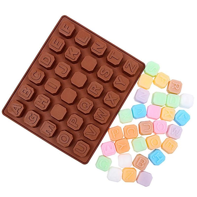 Moule Alphabet Cube Silicone