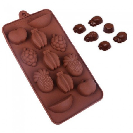 Moule Fruits Silicone