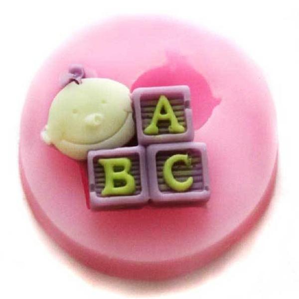 Moule Bébé ABC Silicone