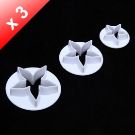 X3 Emporte-pièces Carambole