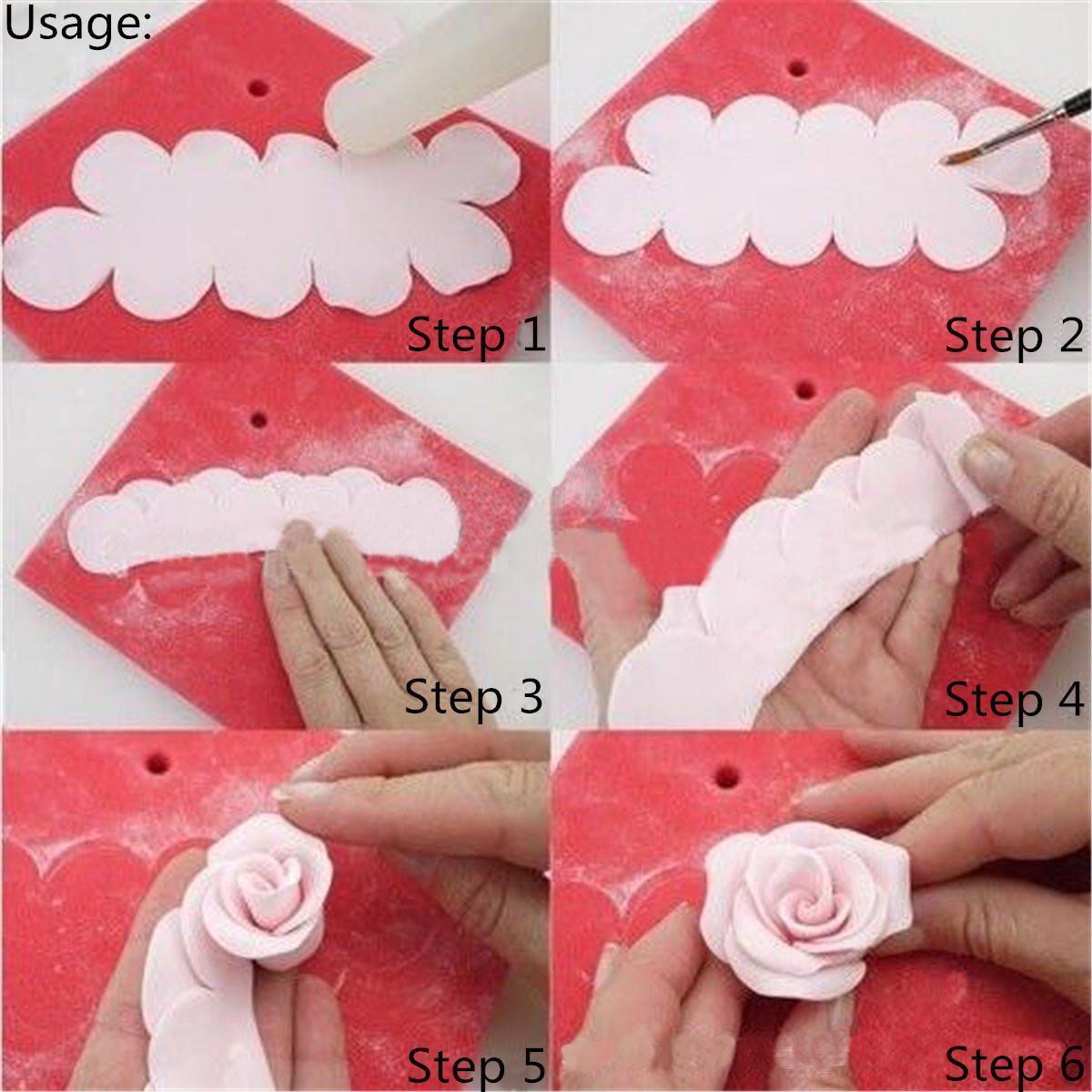 X3 Emporte-pièces Rose 3D