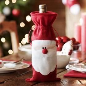 Housse de bouteille Père Noël
