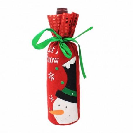 Housse pour bouteille Noël