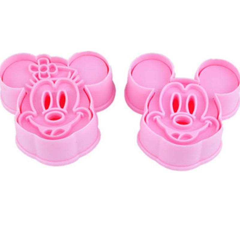 X2 Emporte-pièces Mickey Minnie Mouse