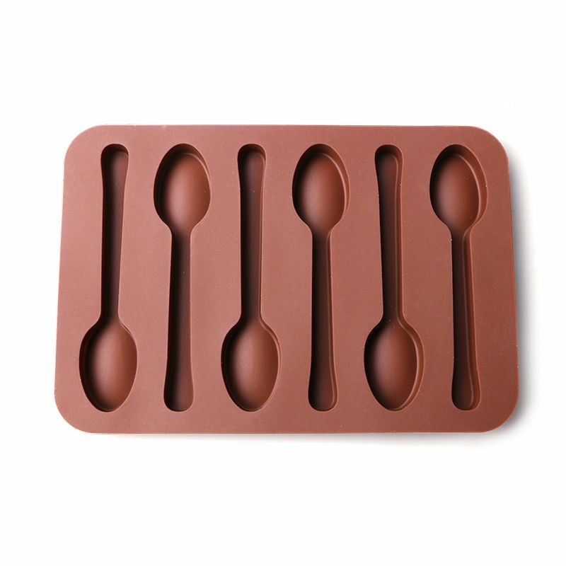 Moule Cuillères en Chocolat silicone