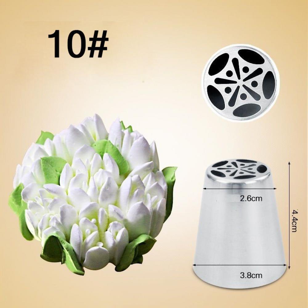 Douille Russe Pâtisserie 3D Fleur