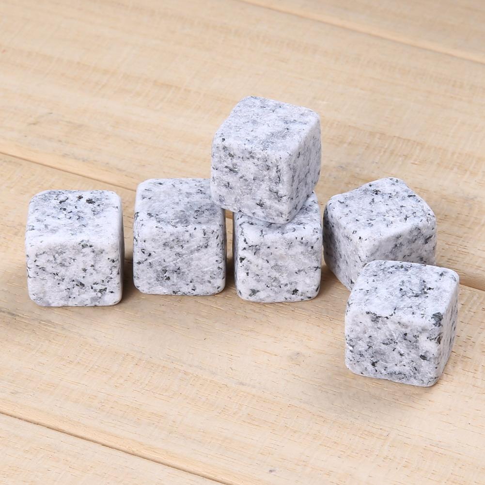 X9 Glaçons en Pierre Granit 100% naturel
