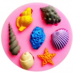 Moule mini Coquillage de Mer pâte à sucre