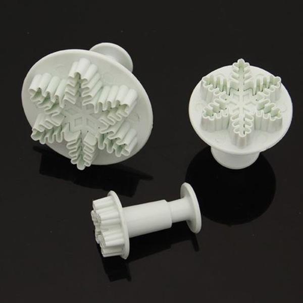 X3 Emporte-pièces Flocons de Neige