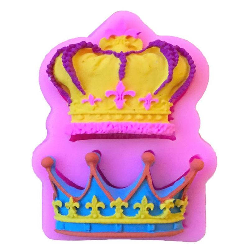 Moule Couronne de Prince et Princesse pâte à sucre