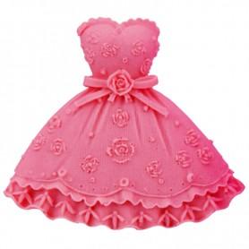 Moule Robe de Princesse pâte à sucre