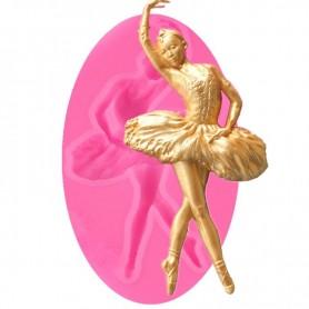 Moule Ballet pâte à sucre