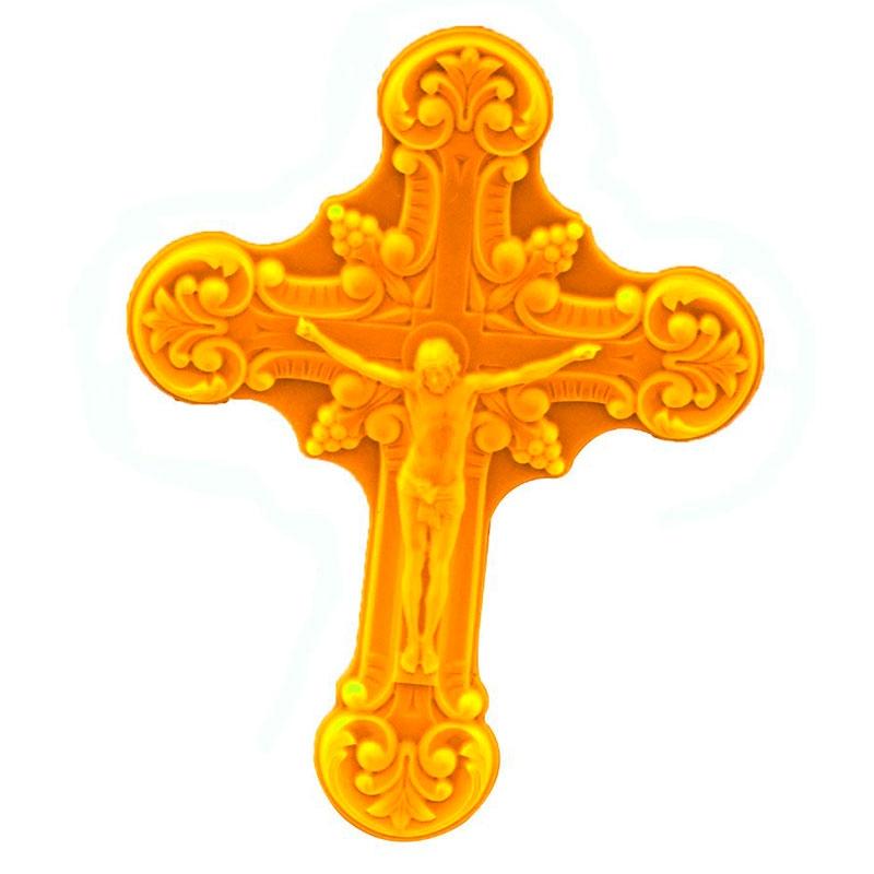 Moule Croix de Jésus pâte à sucre