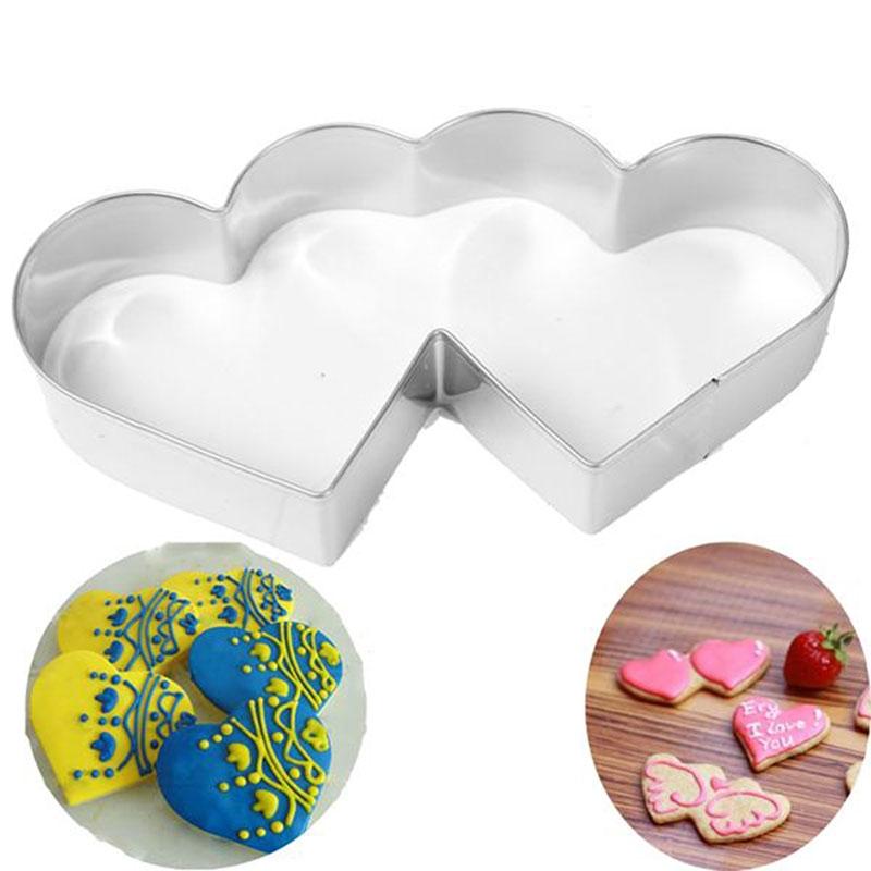 Emporte-pièces Double Coeur