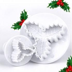 X2 Emporte-pièces Gui de Noël