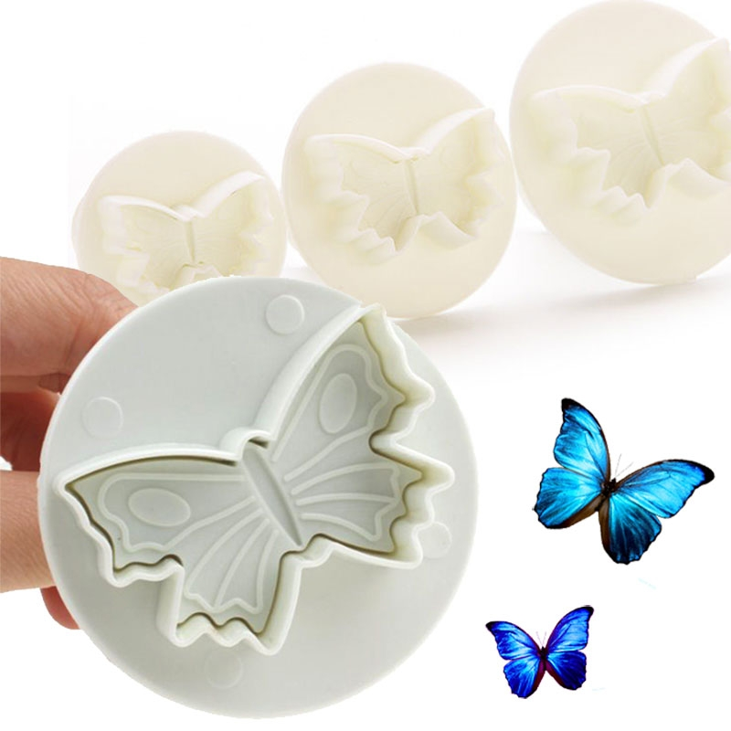 X3 Emporte-pièces Papillon