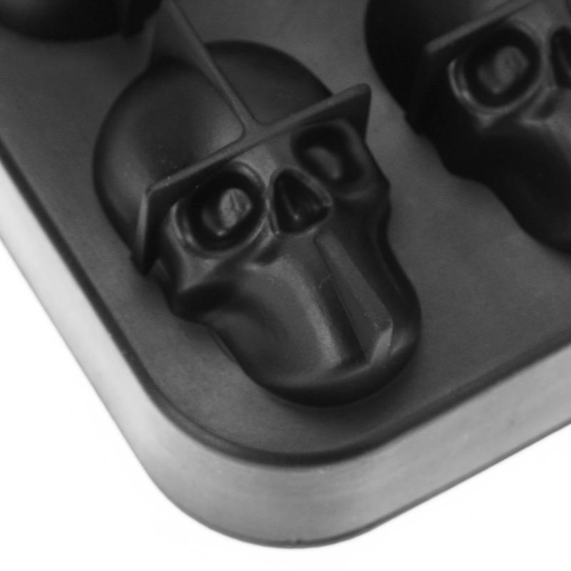 Moule à Glaçons 3D Tête de mort