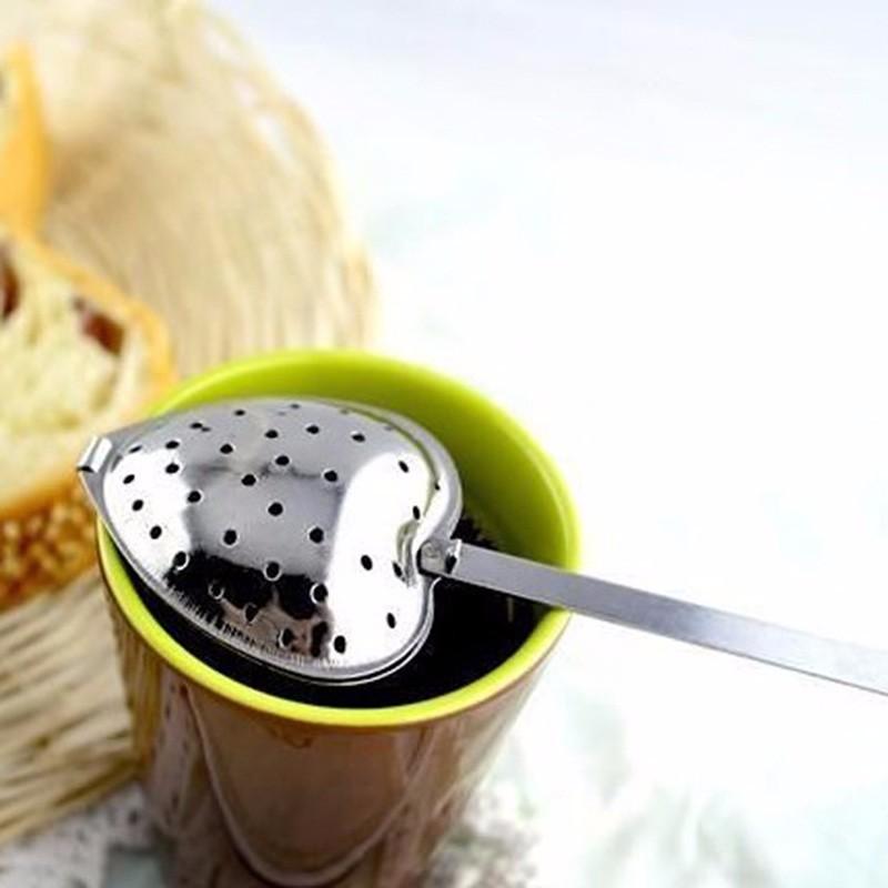 Infuseur à thé Coeur en inox