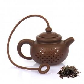Infuseur à thé en forme de théière