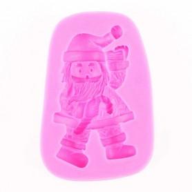 Moule Père Noël pâte à sucre