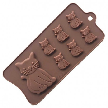 Moule Chat Silicone