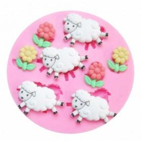 Moule Mouton pâte à sucre