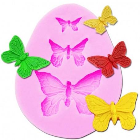 Moule Papillon pâte à sucre