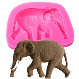 Moule Éléphant pâte à sucre