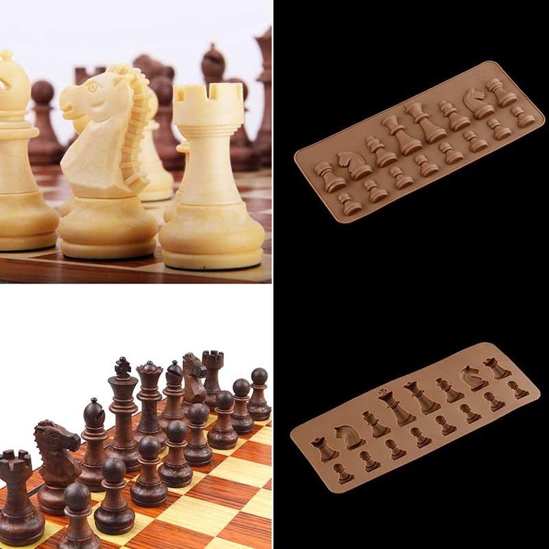 Moule Jeu d'échecs Silicone