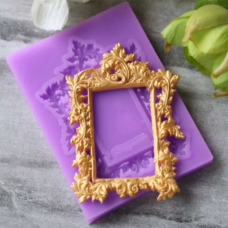 Moule Cadre Miroir Tableau pâte à sucre