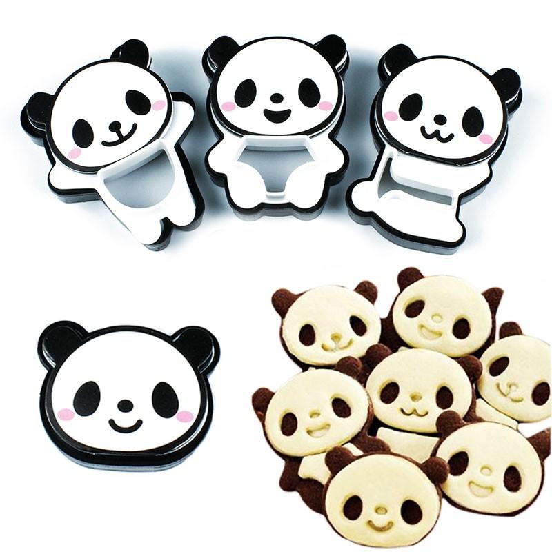 X4 Emporte-pièces Panda