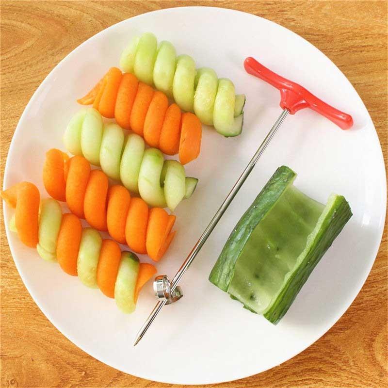 Taille-légumes décoration en spirale