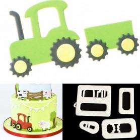 Emporte-pièces Tracteur