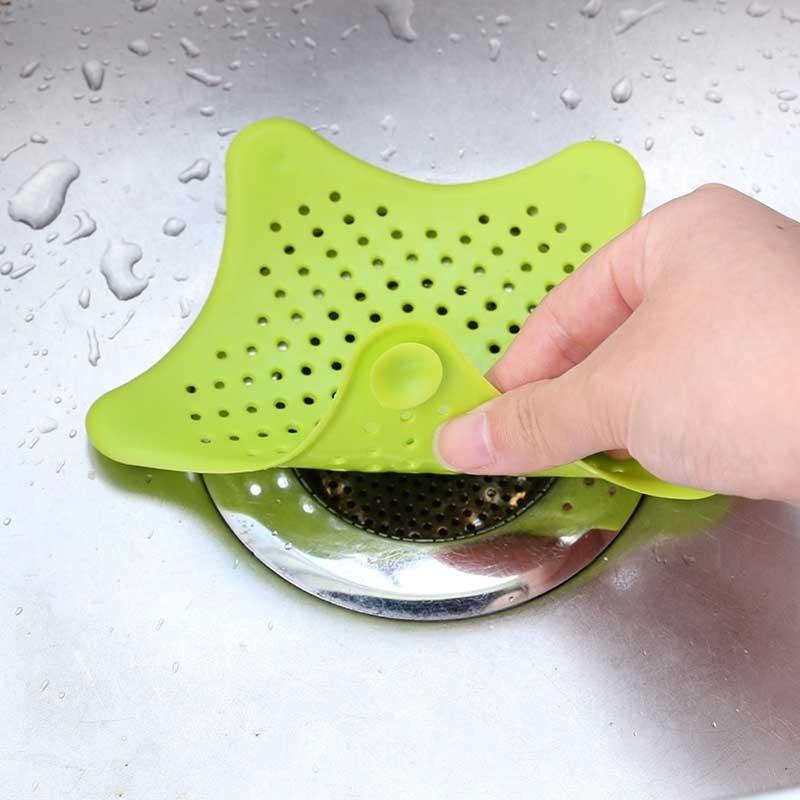 Filtre à évier anti-déchets à plat silicone