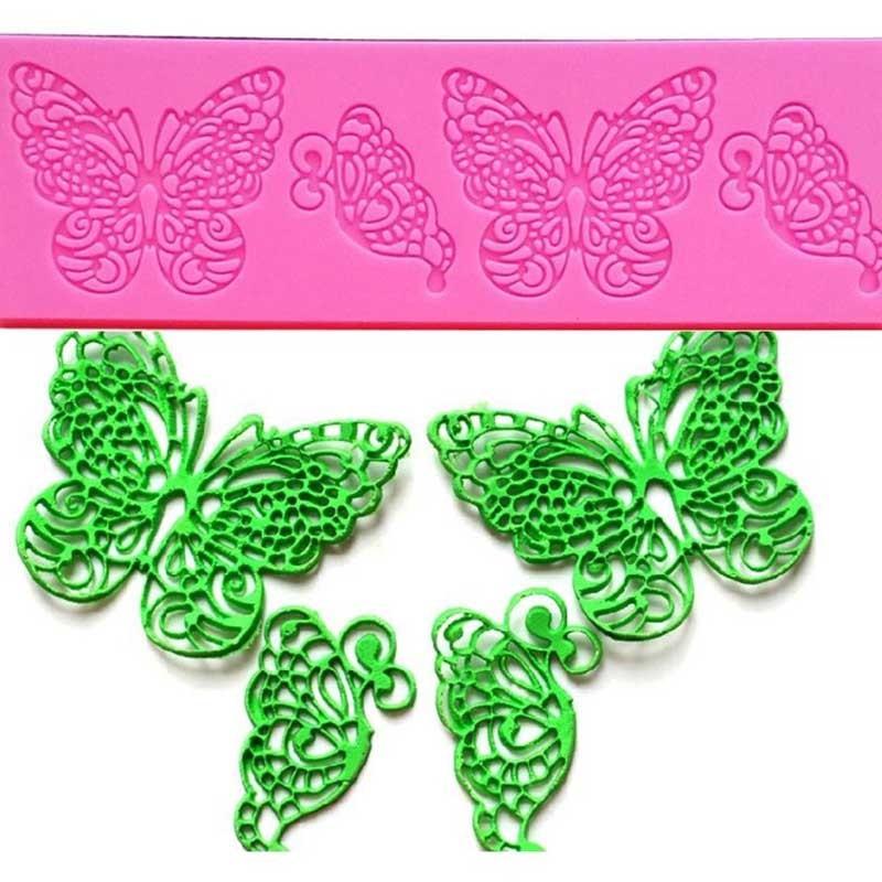 Tapis à Dentelle Décoration Gâteaux Papillon
