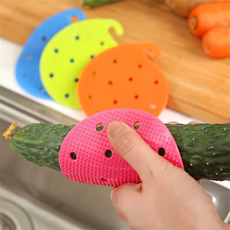 Brosse en Silicone Nettoyage Légumes