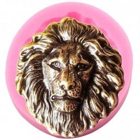 Moule Tête de Lion pâte à sucre