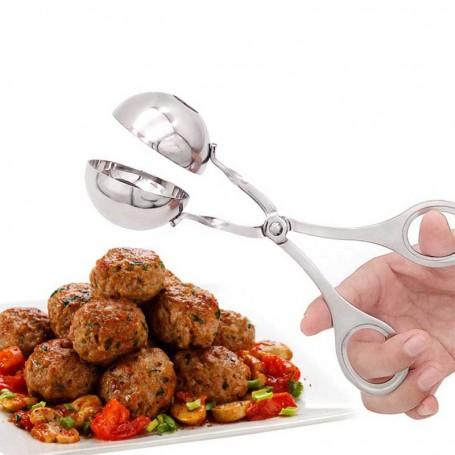 Pince ciseaux à boulettes à viande
