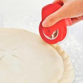 Roulette à chiqueter bords de tarte