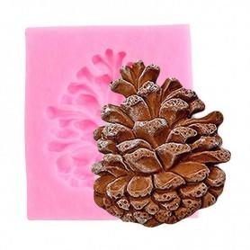 Moule Pomme de pin pâte à sucre