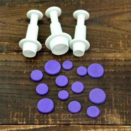 X3 Emporte-pièces forme Rond