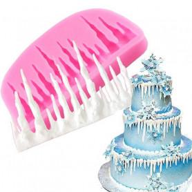 Moule Stalactite de glace gâteau
