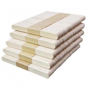 X50 Sticks Bâtonnets en bois pour glace Esquimau