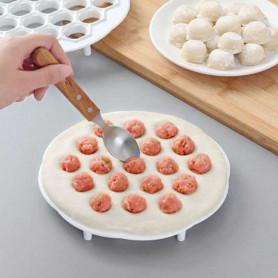 Moule à ravioli dumpling 37 trous