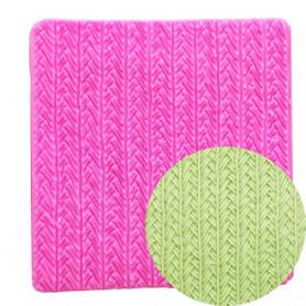 Moule texture laine pâte à sucre