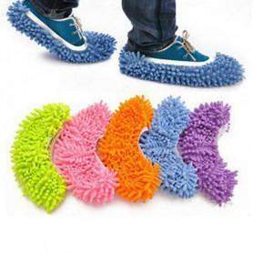 Couvre chaussons de nettoyage en microfibre